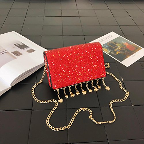 Muium Mini à à porter pour Red Sac l'épaule femme PwxqP7H