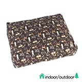 Molly Mutt Indoor/Outdoor Dog Bed Duvet Cover - Durable & Washable - Gorgeous Beasts, Medium/Large