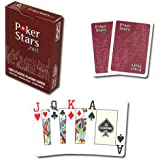 Copag Poker Size Jumbo Index Pokerstars.net Playing Cards (Single Red Deck)