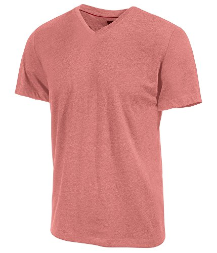 Alfani Mens Fitted Cotton Basic T-Shirt deepseacoral M from Alfani