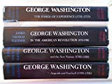 img - for George Washington 4 Volume Set: The Forge of Experience (1732 - 1775); In the American Revolution (1775 - 1783); and the New Nation (1783 - 1793) Anguish and Farewell (1793 - 1799) book / textbook / text book