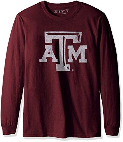 NCAA Texas A&M Aggies Men's Long Sleeve Tee, Large, Maroon