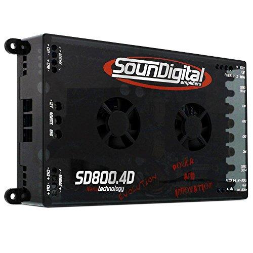 Soundigital 800 4D EVO 800W Max power 4 Channel Amplifier