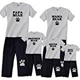 Bear Family Matching Pajamas & Kids Clothing Sets - Mama Bear, Papa Bear, More
