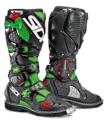 SIDI CROSSFIRE 2 GREEN FLUO BLACK