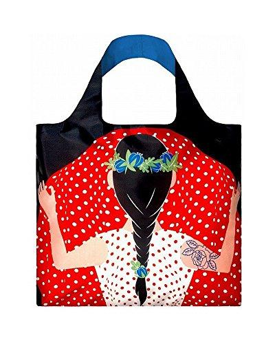 LOQI COOL PEOPLE Flashing Girl Bag - Einkaufstasche