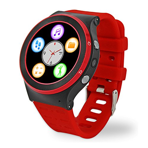 Efanr S99 Round Bluetooth Smart Watch Android 5.1 Quad Core Wrist Phone SIM 3G GPS WIFI