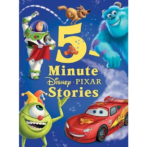 Five Minute Pixar Story Book Disney Press
