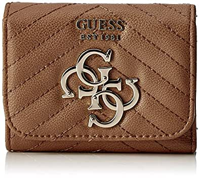 Guess - Slg Small Trifold, Monederos Mujer, Negro (Tan ...