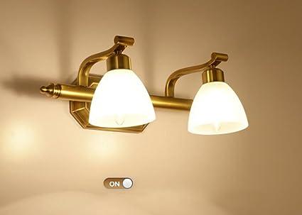 Spiegelfrontlicht Amerikanischen Spiegel vorne Lampe retro ...