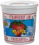 Sunfresh Strawberry Jam Freezerves, 16-Ounce Tubs (Pack of 6)