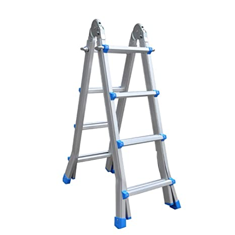Amazon.com: ZHAOYONGLI - Escalera plegable multifunción ...