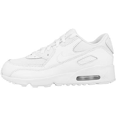 0849cee0 NIKE Boys' Air Max 90 Mesh (PS) Gymnastics Shoes, Bianco (Blanco/White),  1.5 UK: Amazon.co.uk: Shoes & Bags