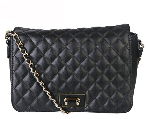 quilted chain handbag - 5