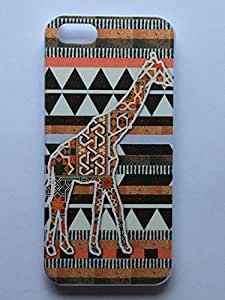 LYYF New Fashion Cool High Quality Aztec Giraffe Hard Case/cover for Iphone 5/5s
