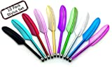 10-Pack-Feather-Stylus-for