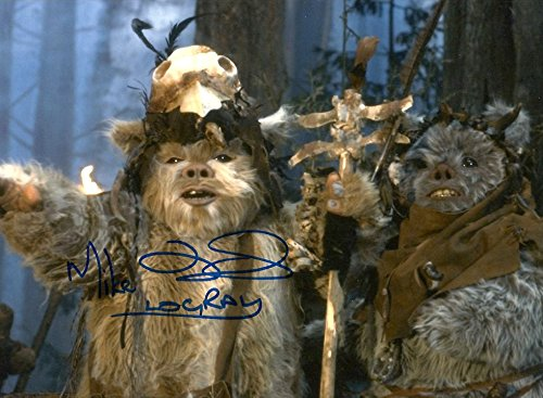 Mike Edmonds Inimitable WARS ACTOR autograph, In-Person signed photo