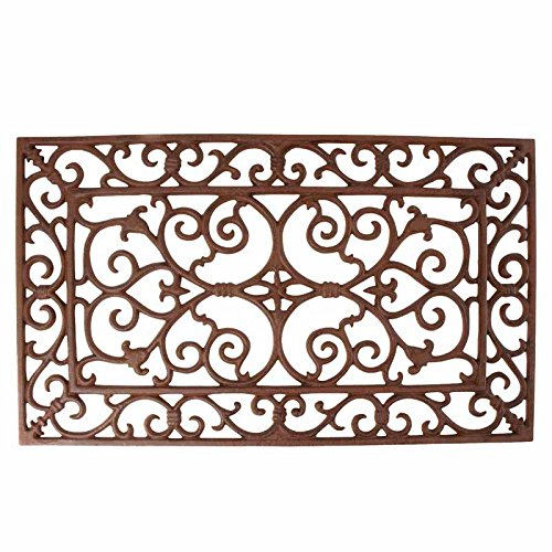 (Esschert Design Small Doormat in Antique Brown - Rectangle 24