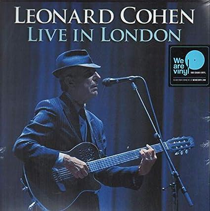 Cohen, Leonard Live In London Lp (Full Length)