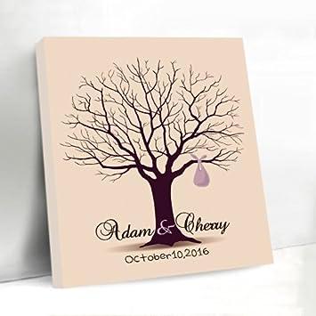 hochzeit leinwand baum leinwanddas wedding tree auto als wedding tree baum hochzeit geschenk. Black Bedroom Furniture Sets. Home Design Ideas