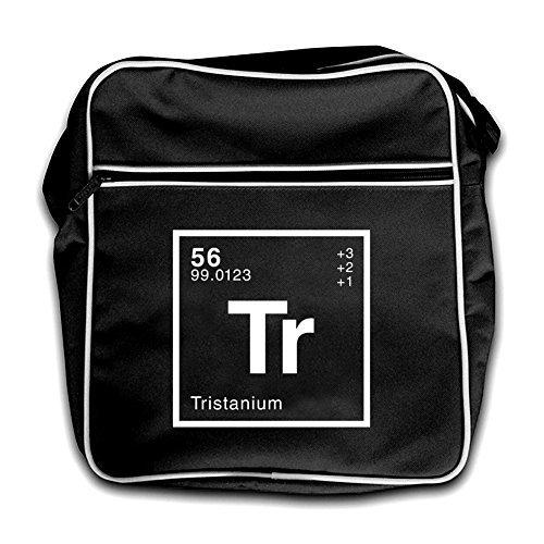 Red Tristan Black Dressdown Bag Periodic Retro Flight Element xqdxgYRw
