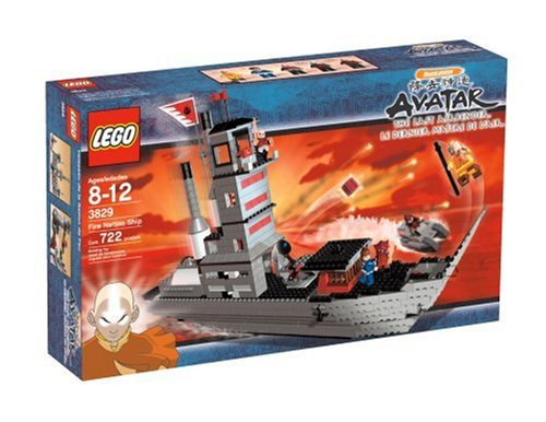 LEGO Avatar Fire Nation Ship (Avatar The Last Airbender Fire Nation Ship)