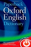 Paperback Oxford English Dictionary, Oxford Dictionaries, 0199640947