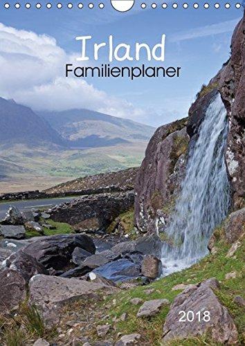 Irland Familienplaner (Wandkalender 2018 DIN A4 hoch): Traumhafte Fotografien der schönen grünen Insel. (Familienplaner, 14 Seiten ) (CALVENDO Natur) [Kalender] [Apr 04, 2017] Potratz, Andrea