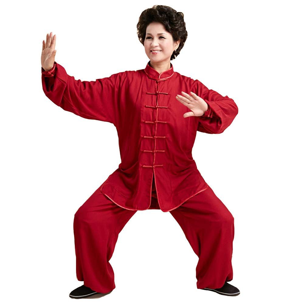 Tai Chi Ropa Mujer Hombre Algodón Tai Chi Uniforme Artes ...