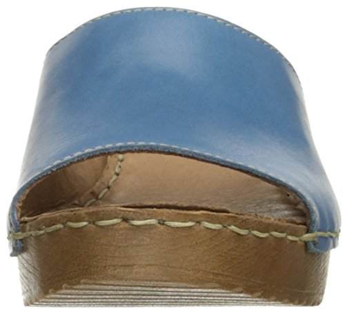 White Mountain Morsel Leder Sandale Blue/Leather