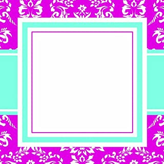 product image for Three Designing Women Designer Self Adhesive Stickers, Pink Toile Collection