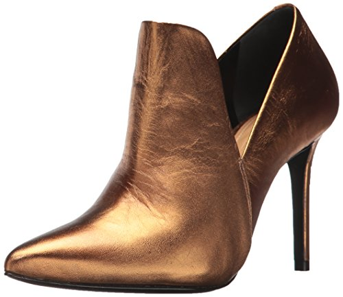 SCHUTZ Women's Nelina Ankle Boot, Bronze, 8.5 M US Bronze Ankle Boot