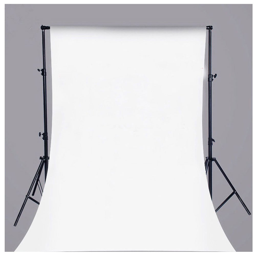 2-3 Business Days Fast Delivery Pure White Vinyl Backdrop Background Absolutely Necessary in Photo Studio Collapsible For Photography, Video and Television