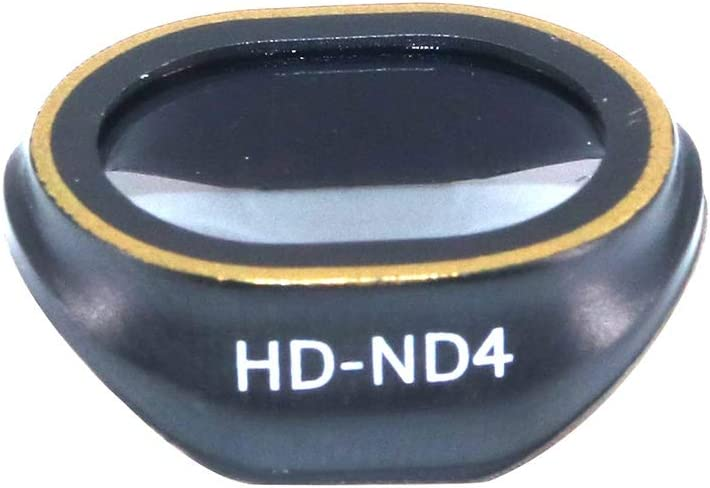 HONG YI-HAT Lens Filter for DJI Spark Drone Camera Lens Filter Accessories HD Multi Coated Super Light Weight Filter HD UV CPL ND4 ND8 ND16 Filter Sets Color : ND8
