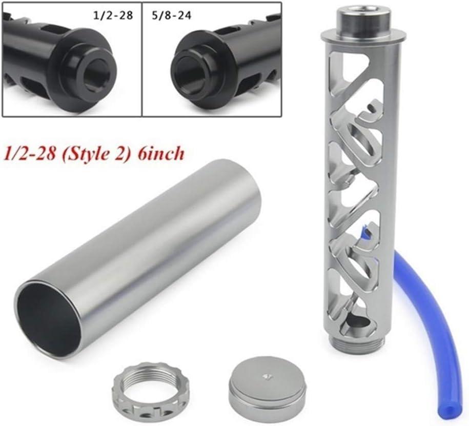 Kairuun 6//10 inch Spiral 1//2-28 5//8-24 Filtro Carburante unipolare per 4003 WIX 24003 Trappola solvente per Auto 2 Colori