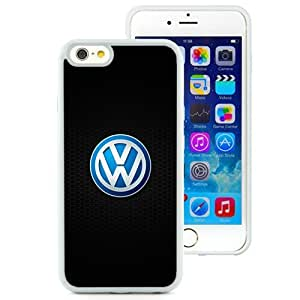 Great Quality iPhone 6 4.7 Inch TPU Case ,Beautiful And Unique Designed Case With Volkswagen Logo 2 White iPhone 6 Cover Phone Case