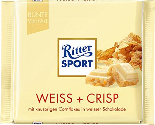Ritter Sport White Crisp-Pack of 3