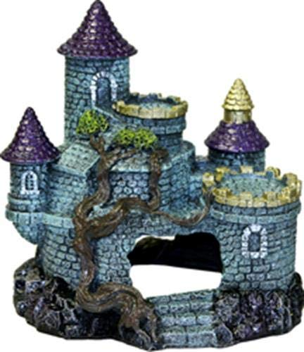 bluee Ribbon PET Products 030157016555 Exotic Environments Hobbit Castle bluee