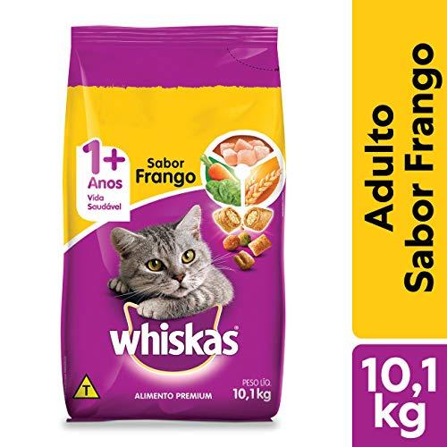 Ração Whiskas Frango Para Gatos Adultos 10,1 kg