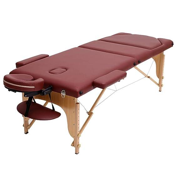 Gaoyuhong LJHA Plegable Cama De Masaje, Fisioterapia Cama ...