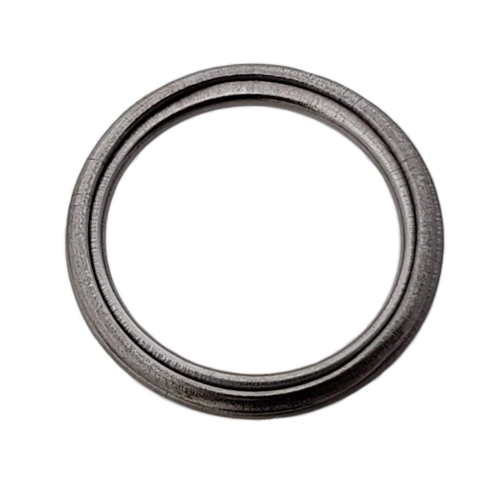 Buy Auto Supply # BAS03565 (50 Pack) M18 Metal Crush Washer Oil Drain Plug Gasket Aftermarket part Fits in Place of Toyota 12157-10010 & More (I.D: 18.5mm / O.D: 24mm)