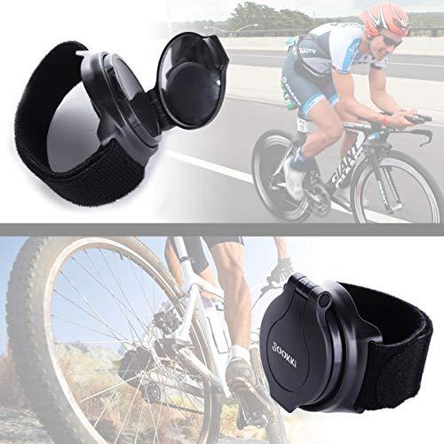 Bike Mirror,JOOKKI Rear View Bicycle Helmet Mirror,360 Degree Adjustable Wrist Mirror for Cycling by JOOKKI (Image #5)