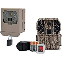 Stealth Cam ZX36NG 10MP No Glo Infrared Trail Camera with SD Card + Security Box