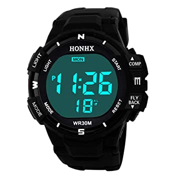 Amazon.com: DYTA Digital Watches for Men LED Sport Wrist ...