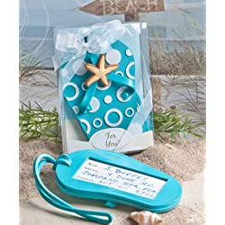 Flip flop luggage tag favors [SET OF 48]
