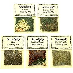 Serendipity Bread Dip Mix (Variety Pack, 5 Dip Mixes)