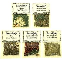 Serendipity Bread Dip Mix (Variety Pack, 5 Dip Mixes)