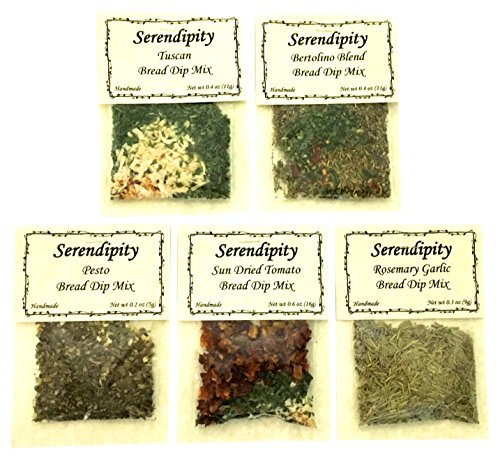 Serendipity Bread Dip Mix (Variety Pack, 5 Dip Mixes) ()