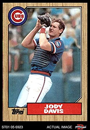 Amazoncom 1987 Topps 270 Jody Davis Chicago Cubs Baseball Card
