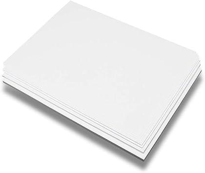 A3 Cartulina Blanca Papel 160g, 180g, 260g Peso Medio Grueso 50 ...